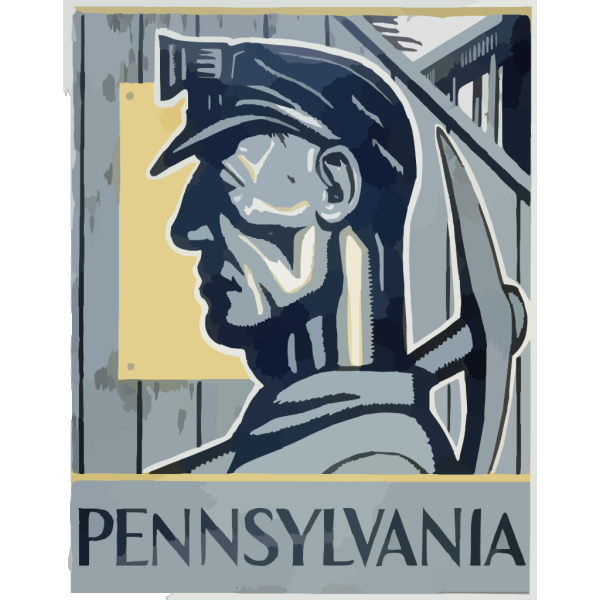 Pennsylvania Worker Blue Collar