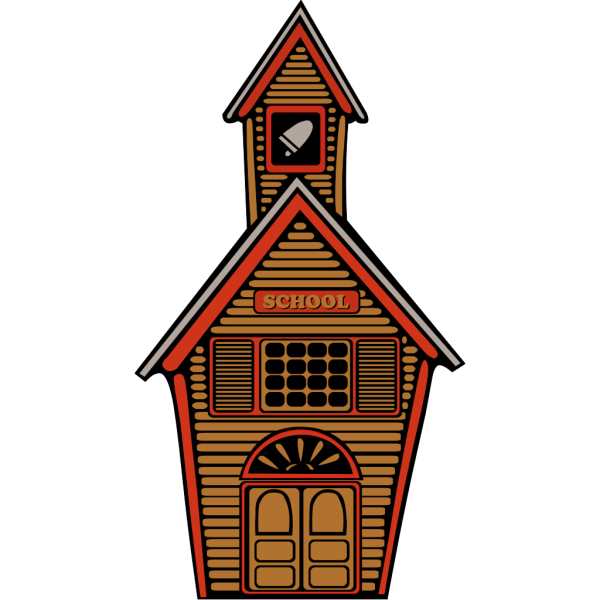 Country School PNG Clip art