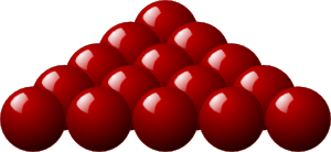 Stellaris Red Snooker Balls PNG Clip art