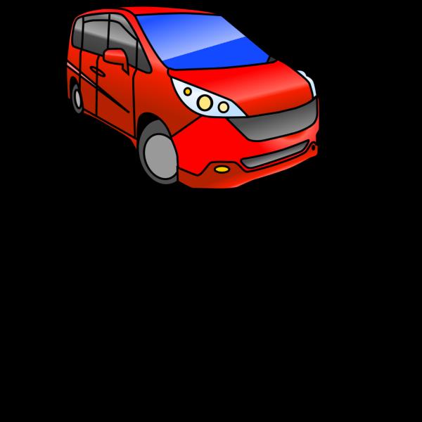 Minivan PNG clipart