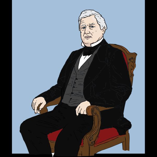 Sitting Man PNG Clip art
