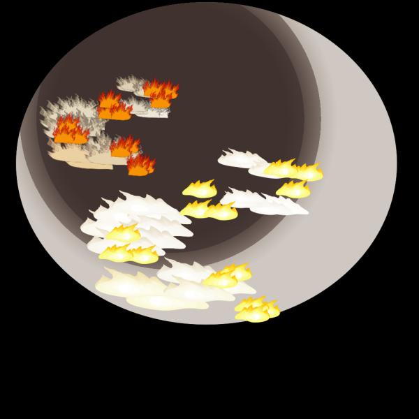 A Sanyal Forest Fire PNG Clip art