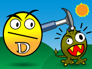 Vitamin D Smashes Cancer PNG Clip art