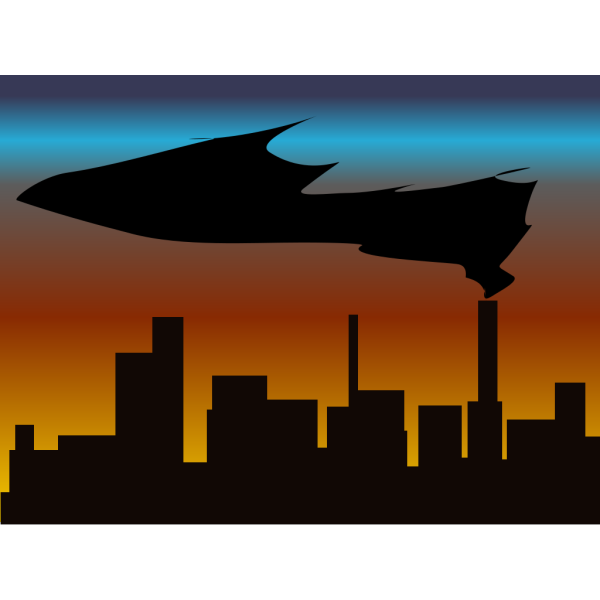 Witchlines Skyline With Black Smoke PNG images