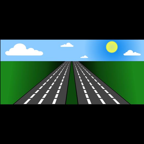 Open Road PNG Clip art