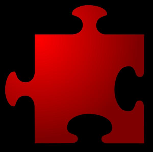 Blue Jigsaw Piece PNG clipart