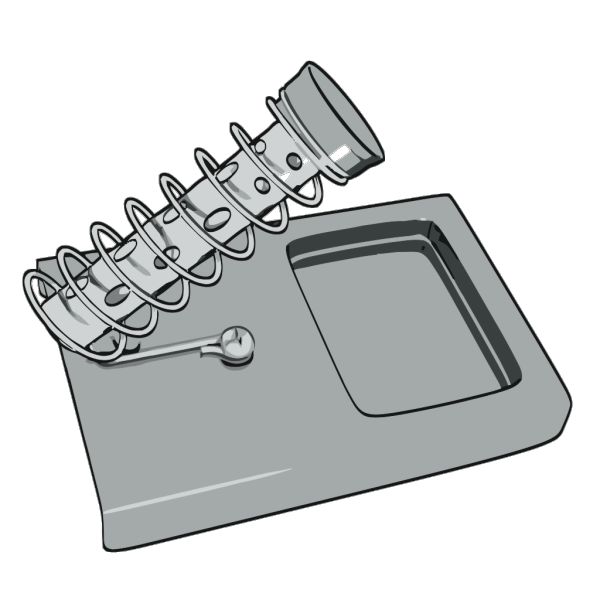 Hexdoll Soldering Iron Stand PNG Clip art