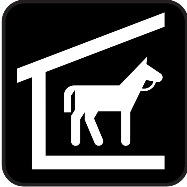 Horse Stable 2 PNG Clip art