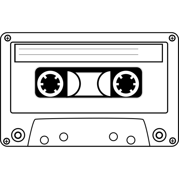 Cassette Bones PNG Clip art