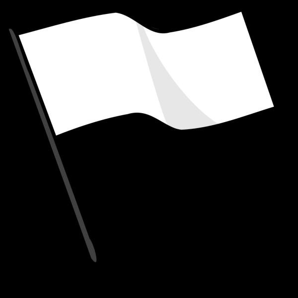 Waving White Flag PNG Clip art