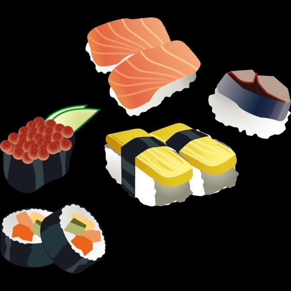 Sushi Set PNG Clip art