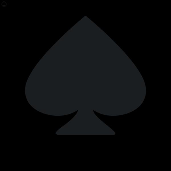 Rocket Emblem Spade PNG Clip art