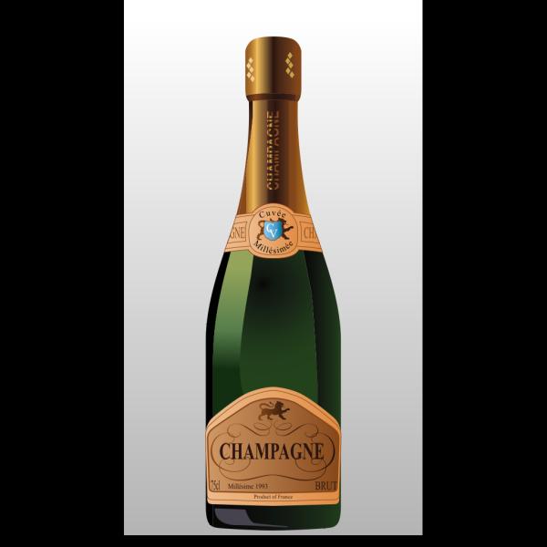 Bottle Of Champagne PNG Clip art
