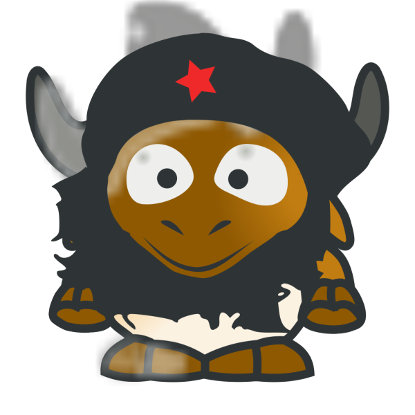 Baby Gnu Che PNG clipart