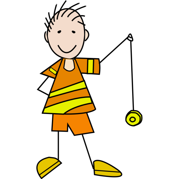 Boy Play With Youo PNG Clip art