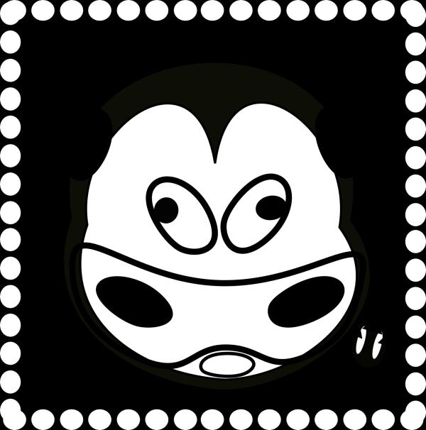 Evil Cow PNG Clip art