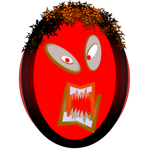 Angry Mask PNG Clip art