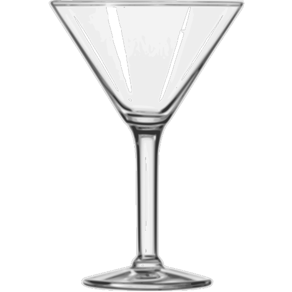 Cocktail Glass Martini PNG Clip art