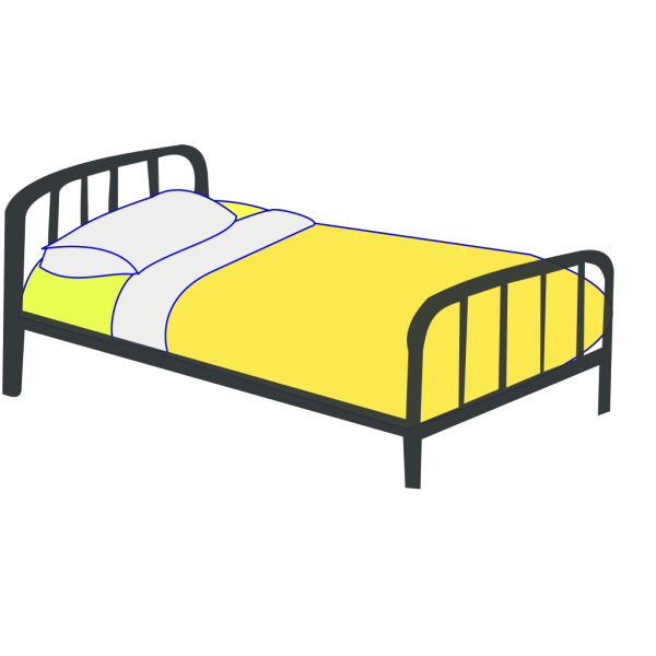 Single Bed PNG Clip art