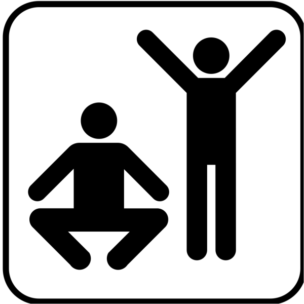 Exercise  Or Gym Area PNG Clip art