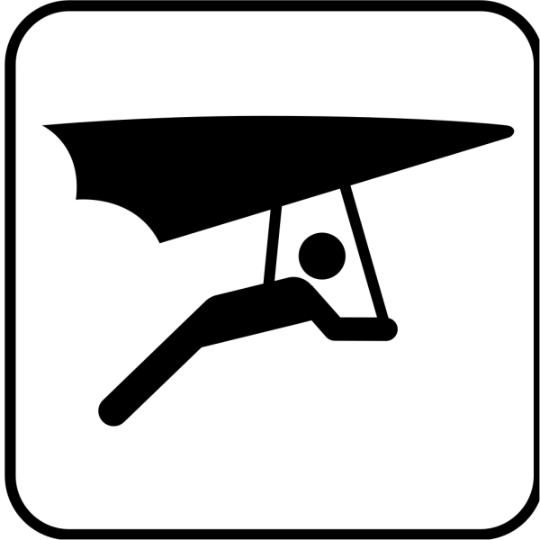 Hang Glider PNG Clip art