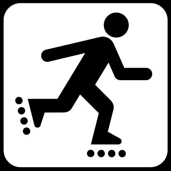 Land Recreation Skates PNG Clip art
