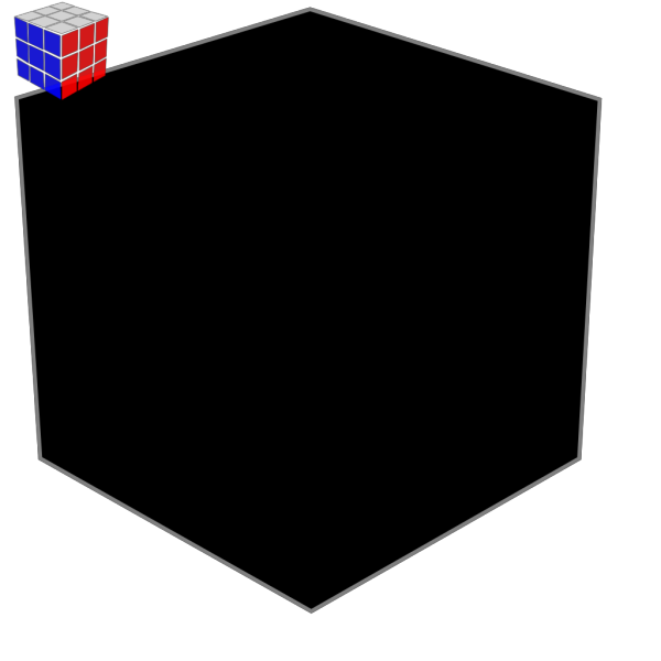 Rubik Cube 3 PNG Clip art