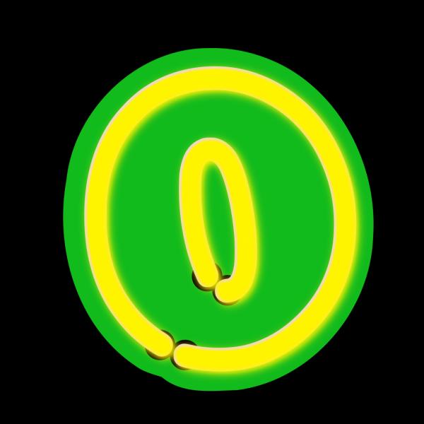 Number Zero PNG Clip art