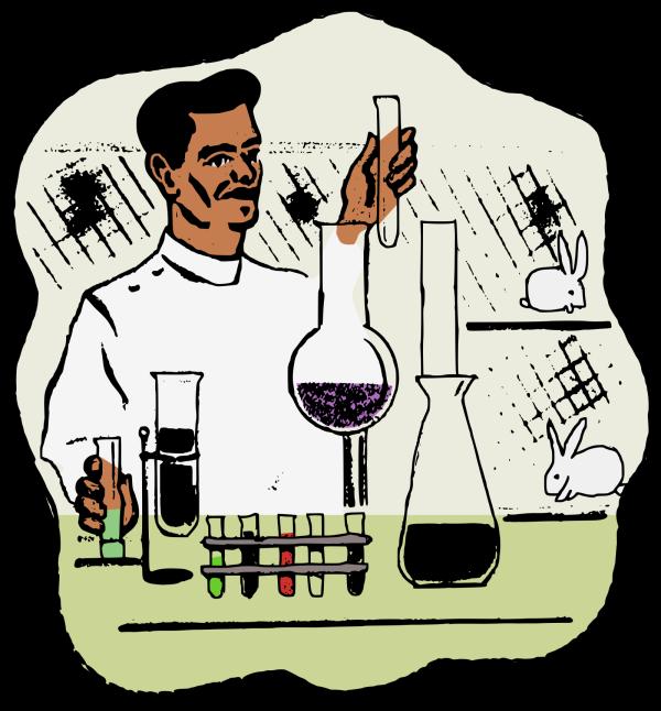 Chemistry Lab PNG Clip art