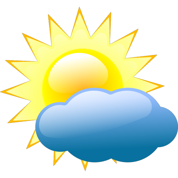 Sunny Weather Symbols PNG images