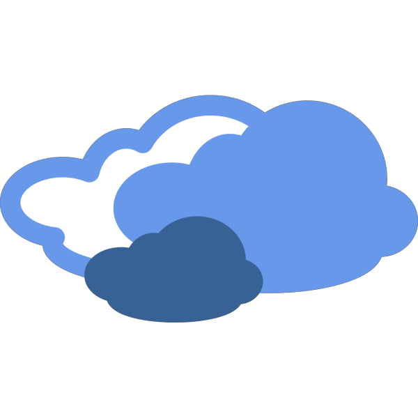 Heavy Clouds Weather Symbol PNG Clip art
