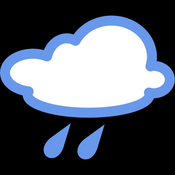 Rainy Weather Symbols PNG Clip art
