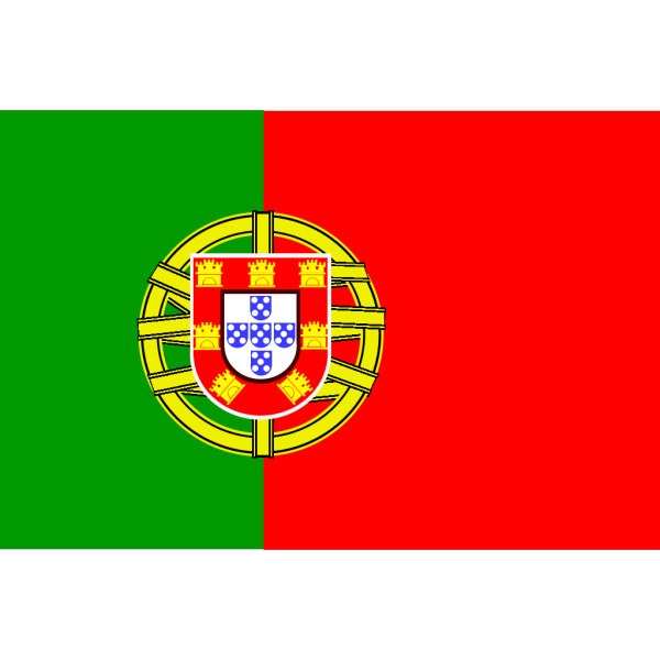 Flag Of Portugal PNG Clip art