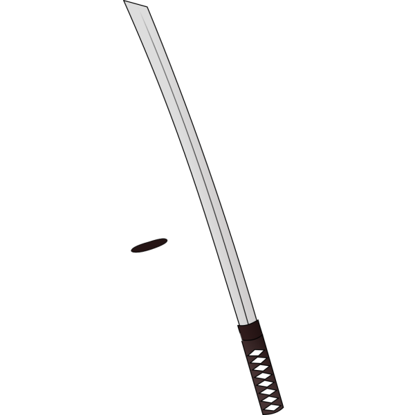 Katana Sword Weapon PNG Clip art