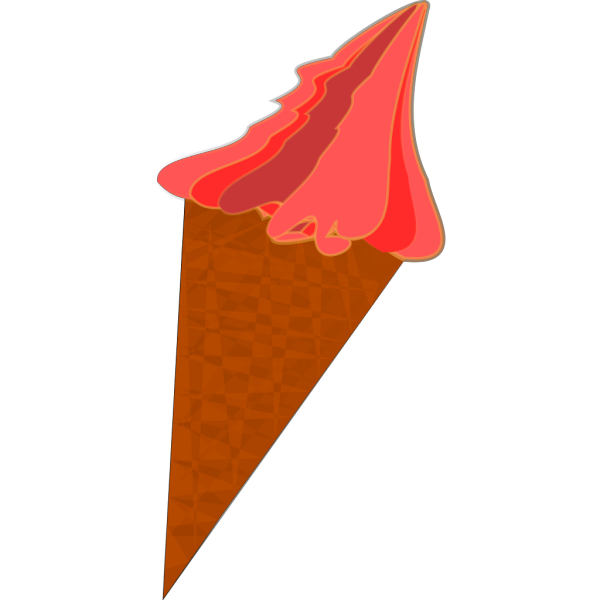Wild Berry Ice Cream Cone PNG images