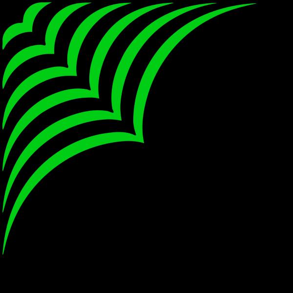 Celtic Vine Corner PNG Clip art