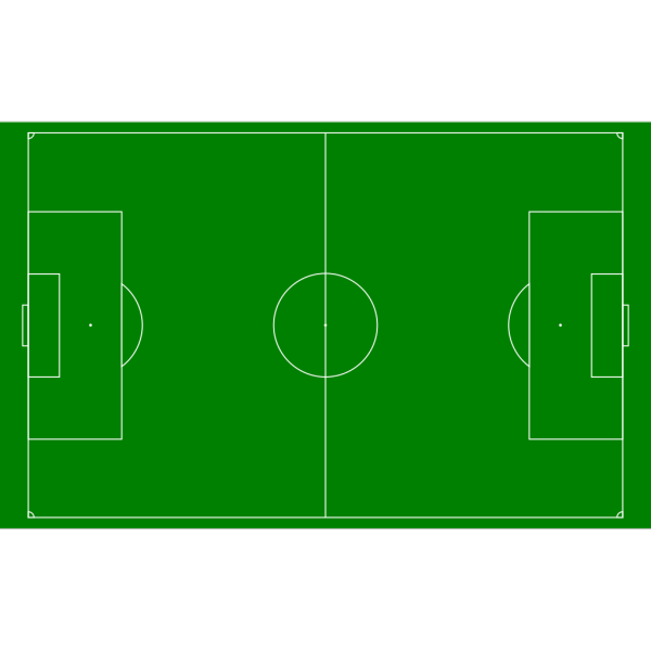 Soccer Field Football Pitch PNG Clip art