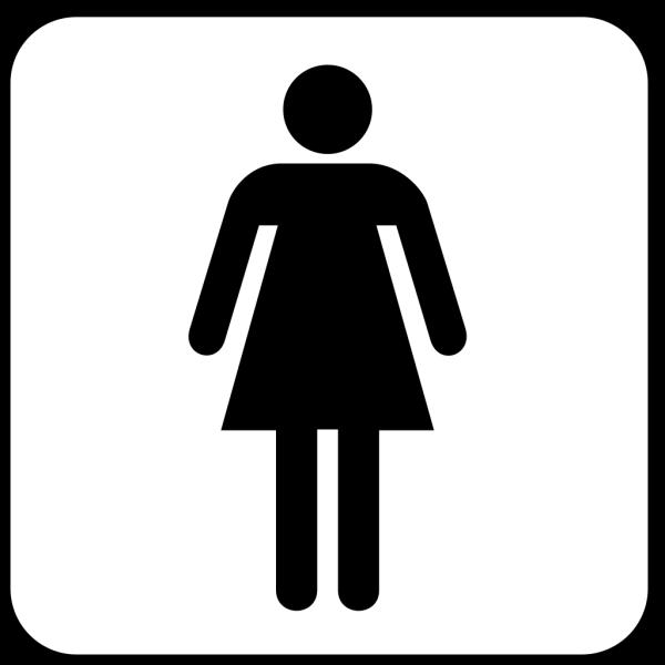 Ladies Room PNG Clip art