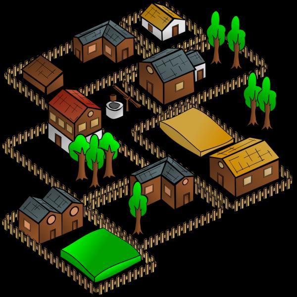 Village 2 PNG Clip art