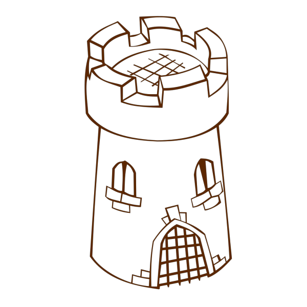 Round Tower 2 PNG Clip art