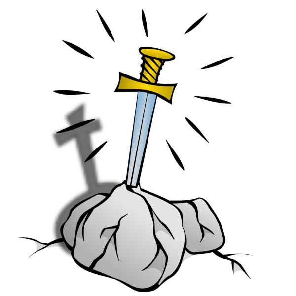 Sword In The Stone 2 PNG Clip art