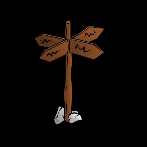 Crossroads Sign PNG Clip art