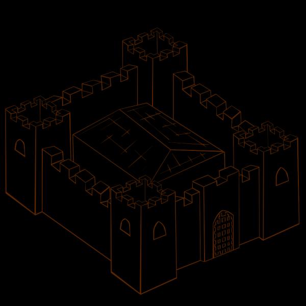 Fortress PNG Clip art
