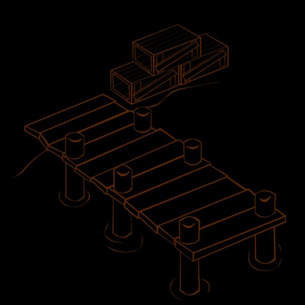 Docks PNG Clip art