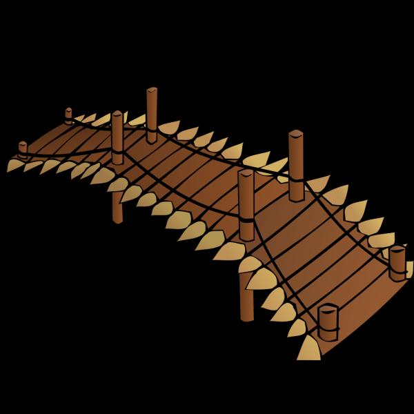Wooden Bridge PNG Clip art