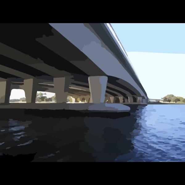 Stone Bridge 3 PNG Clip art