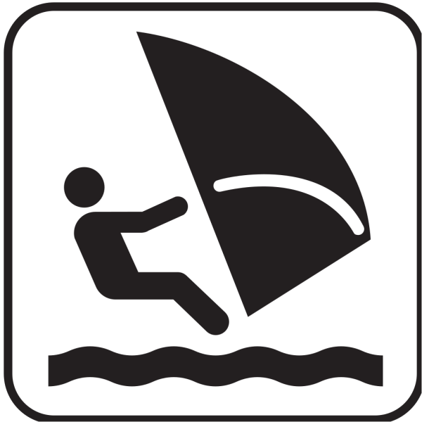 Wind Surfing PNG Clip art