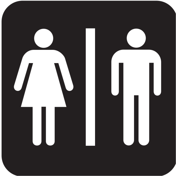 Men Women Bathroom 2 PNG Clip art