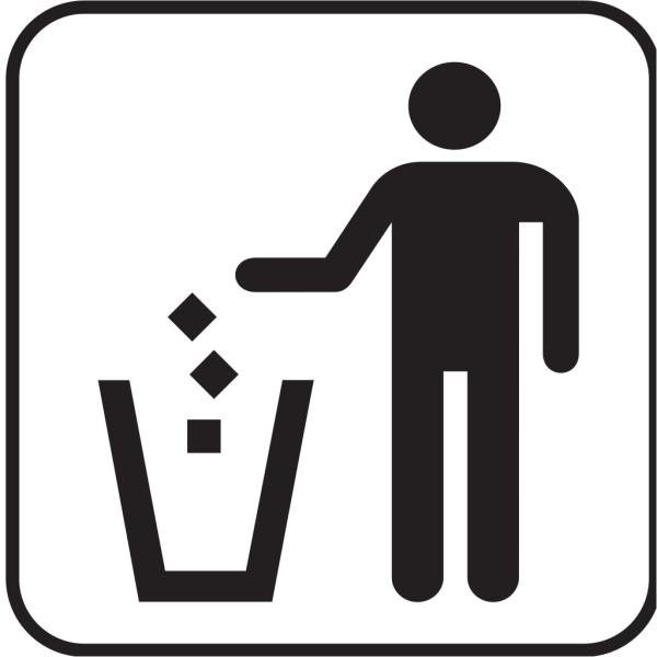 Trash Litter Box 2 PNG Clip art