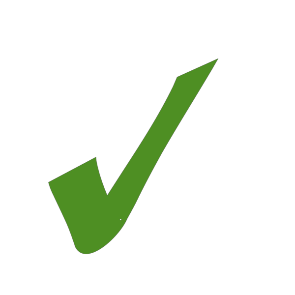Green Check Mark PNG Clip art